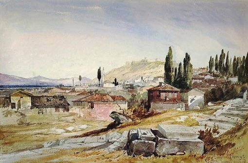 Smyrna from the Jew's Burial ground | William James Muller | Oil Painting
