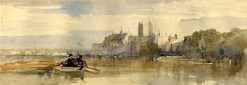 Westminster from the River | William James Muller | Oil Painting