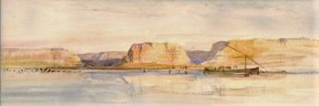 The Nile at Assiout | William James Muller | Oil Painting