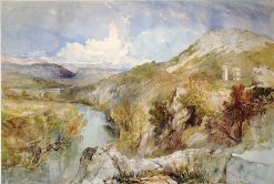 The River Xanthus | William James Muller | Oil Painting