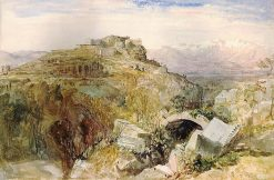 Tlos from the Vomitory of the Amphitheatre | William James Muller | Oil Painting