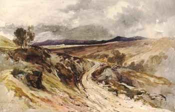 On the road to Bouja | William James Muller | Oil Painting
