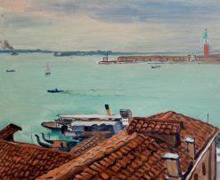 Toits a Venise | Albert Marquet | Oil Painting