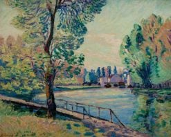 The Jetty | Armand Guillaumin | Oil Painting