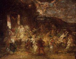 Fête champêtre | Adolphe Joseph Thomas Monticelli | Oil Painting