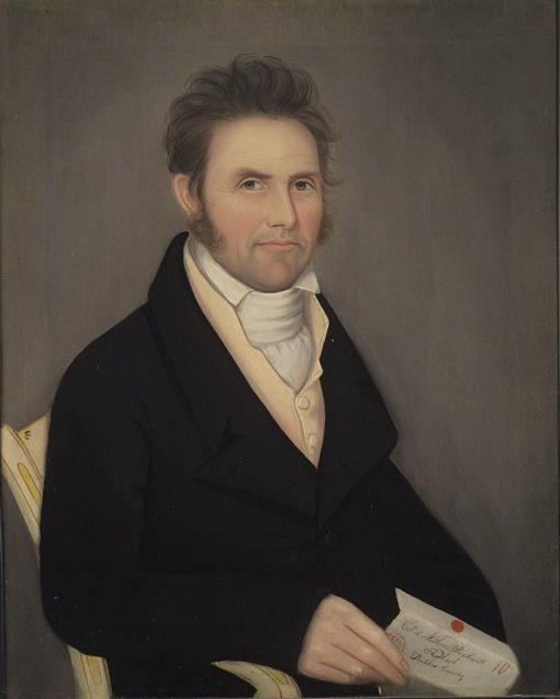 Colonel Nathan Beckwith | Ammi Phillips | Oil Painting