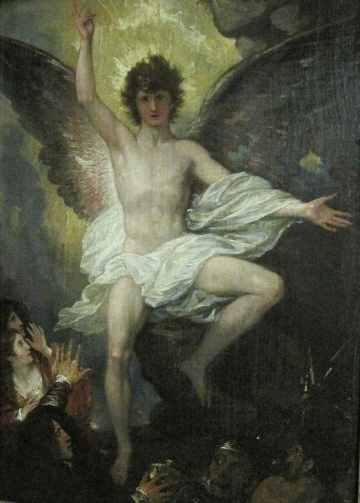 Angel at the Tomb of Christ | Benjamin West | Oil Painting