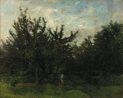 An Apple Orchard | Charles Francois Daubigny | Oil Painting