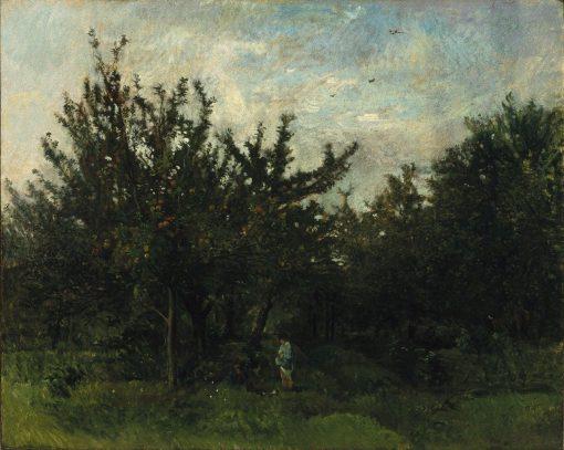 An Apple Orchard | Charles Francois Daubigny | Oil Painting