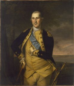 George Washington | Charles Willson Peale | Oil Painting