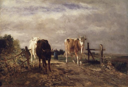 Returning Herd | Constant Troyon | Oil Painting