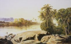 Philae on the Nile | Edward Lear | Oil Painting