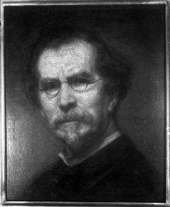 Self-Portrait | George Peter Alexander Healy | Oil Painting