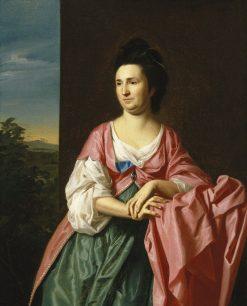 Mrs. Sylvester (Abigail Pickman) Gardiner | John Singleton Copley | Oil Painting