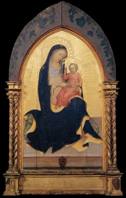 Madonna of Humility | Lorenzo Monaco | Oil Painting