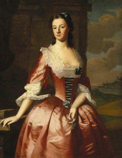 Portrait of a Woman | Robert Feke | Oil Painting