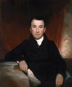 Jonas Platt | Samuel Morse | Oil Painting