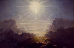 Study for The Cross and the World...... | Thomas Cole | Oil Painting