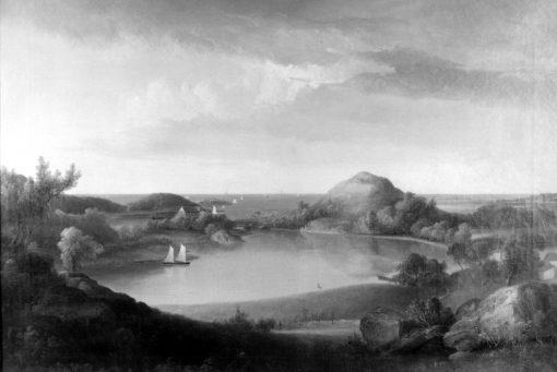 Harbor Landscape | Thomas Doughty | Oil Painting