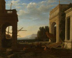 A Mediterranean Seaport | Claude Lorrain | Oil Painting