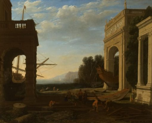 A Mediterranean Seaport | Claude Lorrain | Oil Painting