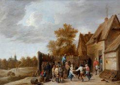 Peasants Dancing | David Teniers II | Oil Painting