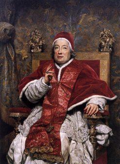 Portrait of Clement XIII Rezzonico | Anton Raphael Mengs | Oil Painting