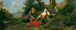 Pastoral Scene | Francis Hayman | Oil Painting