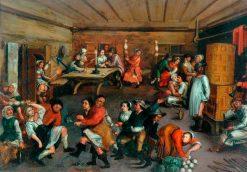 Dutch Merrymaking | Adriaen van Ostade | Oil Painting