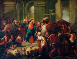 Christ Expelling the Sellers from the Temple | Jean Jouvenet | Oil Painting