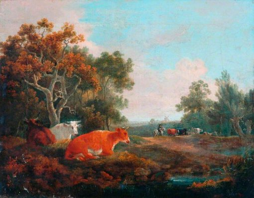 Landscape with Cattle | William Collins | Oil Painting