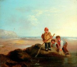 The Shrimpers | William Collins | Oil Painting