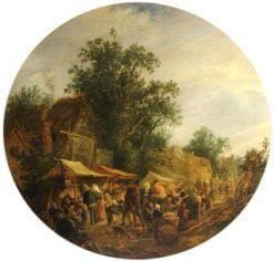 A Village Fair | Adriaen van Ostade | Oil Painting