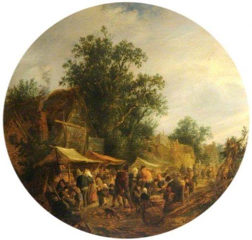 A Village Fair | Adriaen van Ostade | Oil Painting
