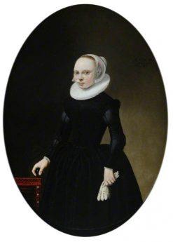 Portrait of a Girl Aged 19 | Michiel Jansz. van Mierevelt | Oil Painting