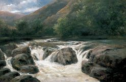 On the River Avon | William James Muller | Oil Painting