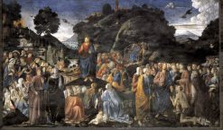 The Sermon on the Mount | Cosimo Rosselli | Oil Painting
