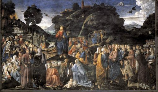 The Sermon on the Mount   Cosimo Rosselli   Oil Painting
