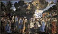 Tables of the Law with the Golden Calf | Cosimo Rosselli | Oil Painting