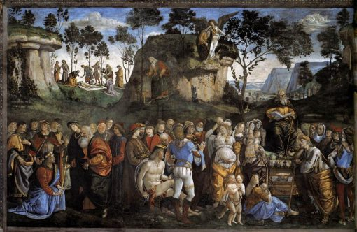 Moses's Testament and Death | Luca Signorelli | Oil Painting