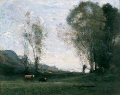Solitude | Jean Baptiste Camille Corot | Oil Painting