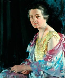 Mrs Thomas Howarth | Sir William Orpen | Oil Painting