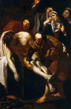 The Entombment of Christ | Dirck van Baburen | Oil Painting