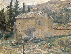 French Landscape with a House | Roger Eliot Fry | Oil Painting
