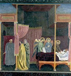 The Healing of the Wounded Man of Lerida (copy after The Master of the St Cecilia Altarpiece) | Roger Eliot Fry | Oil Painting