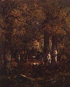 Under the Trees | Narcisse Dìaz de la Peña | Oil Painting