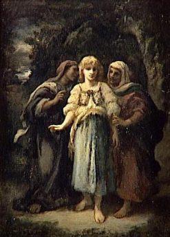 Le Maléfice   Narcisse Dìaz de la Peña   Oil Painting