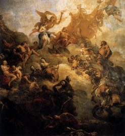 The Apotheosis of Hercules | Francois Lemoyne | Oil Painting