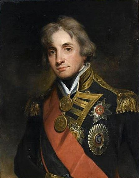 Viscount Nelson   George Peter Alexander Healy   Oil Painting