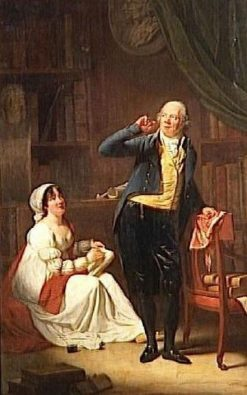 Jacques Delille and his Wife | Henri Pierre Danloux | Oil Painting